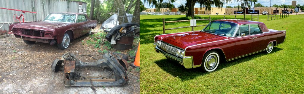 64 Lincoln Before and After